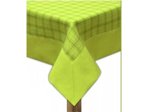 Ubrus - běhoun na stůl CAPRI 45x95 cm, zelená, ESSEX
