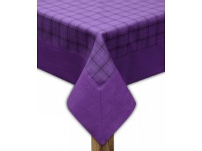 Ubrus - běhoun na stůl CAPRI 45x95 cm, fialová, ESSEX