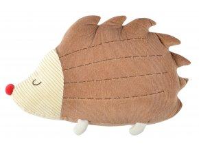 Dětský tvarovaný polštářek větších rozměrů HAPPY PETS ježek 51x32 cm Essex