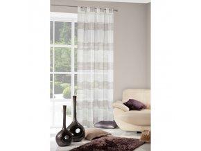 Dekorační záclona ARKADE krémová 140x250 cm MyBestHome