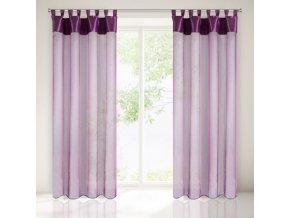 Dekorační záclona LIANA fialová 140x250 cm MyBestHome