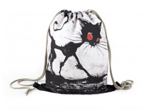 Vak na záda 13 Gotická kočka MyBestHome 41x32 cm