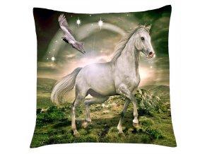 Polštář s motivem koně 09 Mybesthome 40x40 cm
