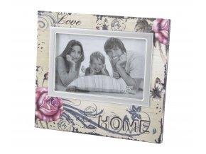 Foto rámeček LOVE HOME 01 18x13 cm fotografie Mybesthome
