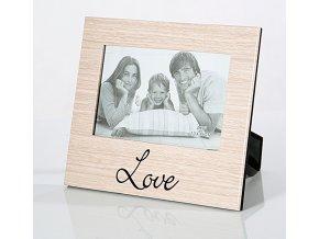 Foto rámeček LOVE 15x10 cm fotografie Mybesthome