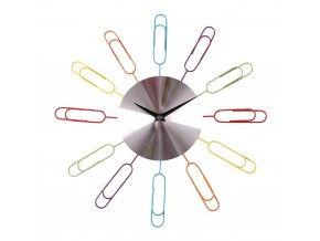 Nástěnné hodiny COLOR CLIPS průměr 35 cm Mybesthome