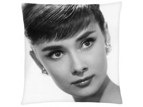 Polštář Audrey Hepburn 02 Mybesthome 40x40 cm