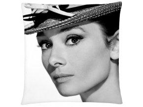 Polštář Audrey Hepburn 03 Mybesthome 40x40 cm