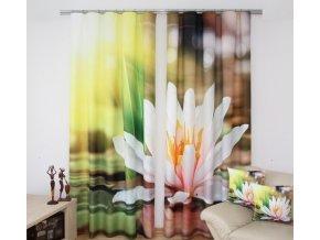 3D dekorační závěs 32 KVĚT LEKNÍNU 160x250 cm MyBestHome