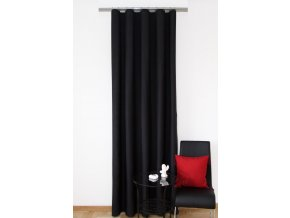 Dekorační závěs 01 černá 160x250 cm MyBestHome