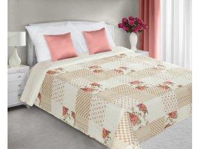 Přehoz na postel ROGER 220x240 cm béžová Mybesthome
