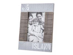 Foto rámeček ISLAND 10x15 cm fotografie Mybesthome