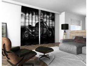 3D dekorační závěs 213V CHOPPER 160x250 cm set 2 kusy MyBestHome