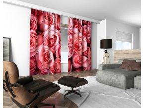 3D dekorační závěs 105V ROSES 160x250 cm set 2 kusy MyBestHome