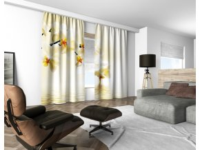 3D dekorační závěs 112V ORCHIDS 160x250 cm set 2 kusy MyBestHome