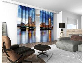 3D dekorační závěs 116V LONDON 160x250 cm set 2 kusy MyBestHome