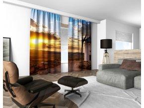 3D dekorační závěs 117V HOLLAND 160x250 cm set 2 kusy MyBestHome