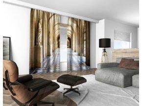3D dekorační závěs 118V KINGS 160x250 cm set 2 kusy MyBestHome