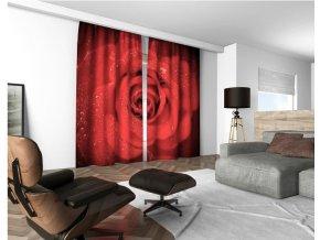3D dekorační závěs 132V ROSE 2x160x250 cm set 2 kusy MyBestHome