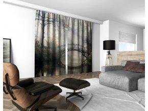 3D dekorační závěs 201V BRIDGE 160x250 cm set 2 kusy MyBestHome