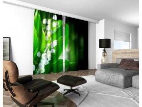 3D dekorační závěs 207V LILY OF THE VALLEY 160x250 cm set 2 kusy MyBestHome