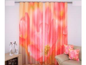 3D dekorační závěs 70 FLOWERS 160x250 cm MyBestHome