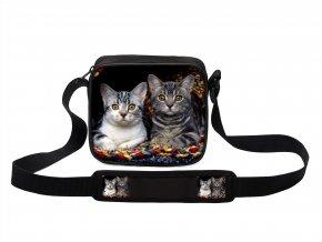 Taška přes rameno MINI kočky 09 MyBestHome 19x17x6 cm