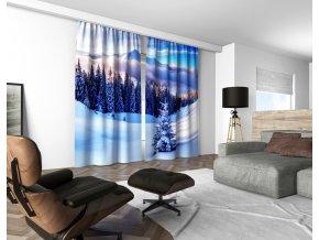 3D dekorační závěs 128V WINTER 160x250 cm set 2 kusy MyBestHome