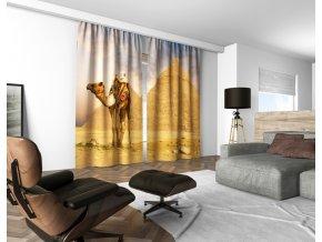 3D dekorační závěs 124V EGYPT 160x250 cm set 2 kusy MyBestHome
