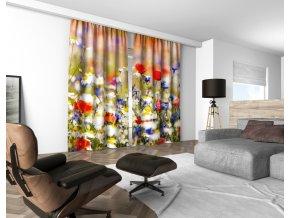 3D dekorační závěs 302V MEADOW 160x250 cm set 2 kusy MyBestHome