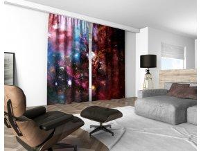 3D dekorační závěs 309V NEBULA 03 160x250 cm set 2 kusy MyBestHome