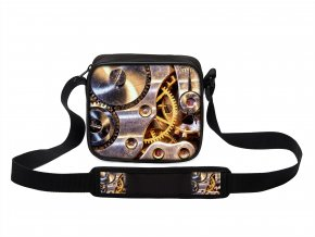 Taška přes rameno MINI HDR hodinový strojek MyBestHome 19x17x6 cm