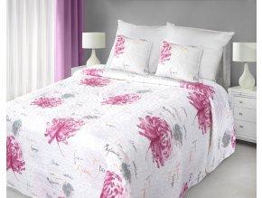 Přehoz na postel MAGNUS 220x240 cm krémová Mybesthome
