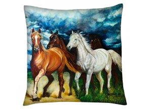 Polštář s motivem koně 13 Mybesthome 40x40 cm
