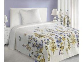 Přehoz na postel BEATA 220x240 cm bílá Mybesthome
