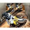 Povlečení CROSS 3D set 3 ks, 1x 160x200 cm, 2x povlak 70x80 cm MyBestHome