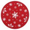 Prostírání NOEL I. červená Ø 30 cm Mybesthome