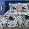 Povlečení ETHAN 100% saténová bavlna 1x 200x220 cm, 2x povlak 70x80 cm francouzské povlečení MyBestHome