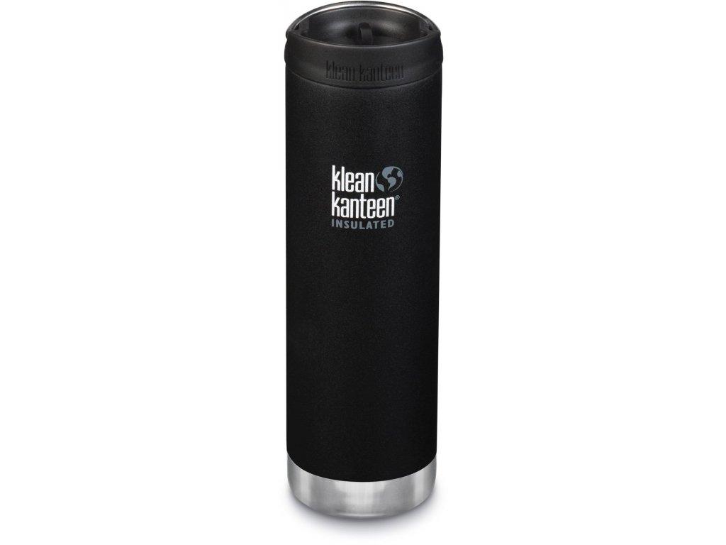1154 klean kanteen tkwide w cafe cap termoska shale black 592 ml