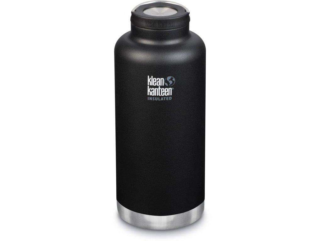 1169 klean kanteen tkwide w wide loop cap termoska shale black 1900 ml