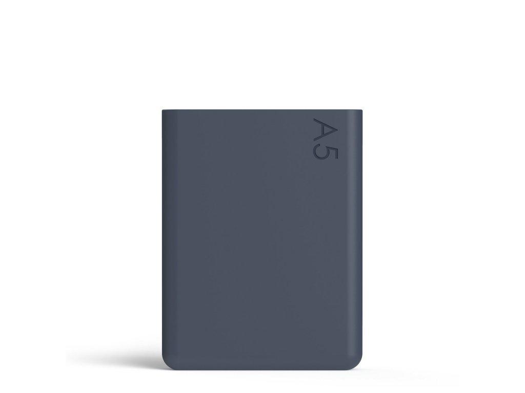 Silikonový obal na láhev na vodu Memobottle A5 Silicone Sleeve - Midnight Blue 750 ml