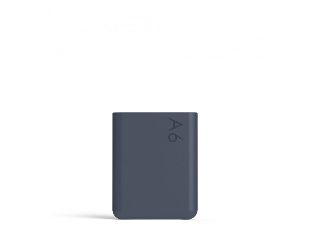 Silikonový obal na láhev na vodu Memobottle A6 Silicone Sleeve - Midnight Blue 375 ml