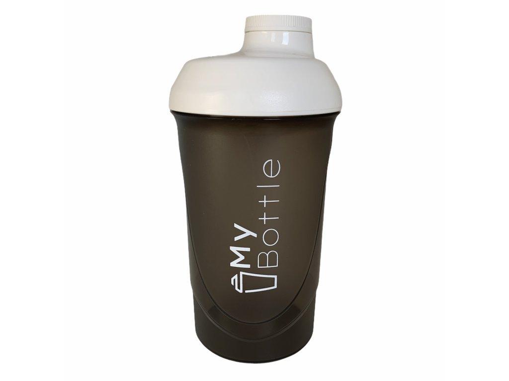 MyBottle Black - White 600 ml