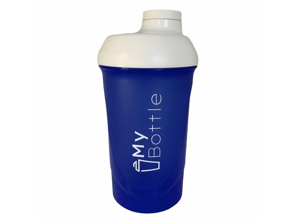 MyBottle Blue - White 600 ml