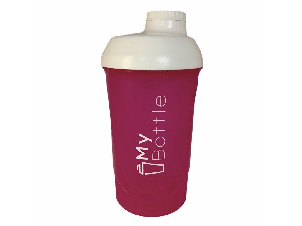 Šejkr MyBottle Purple - White 600 ml