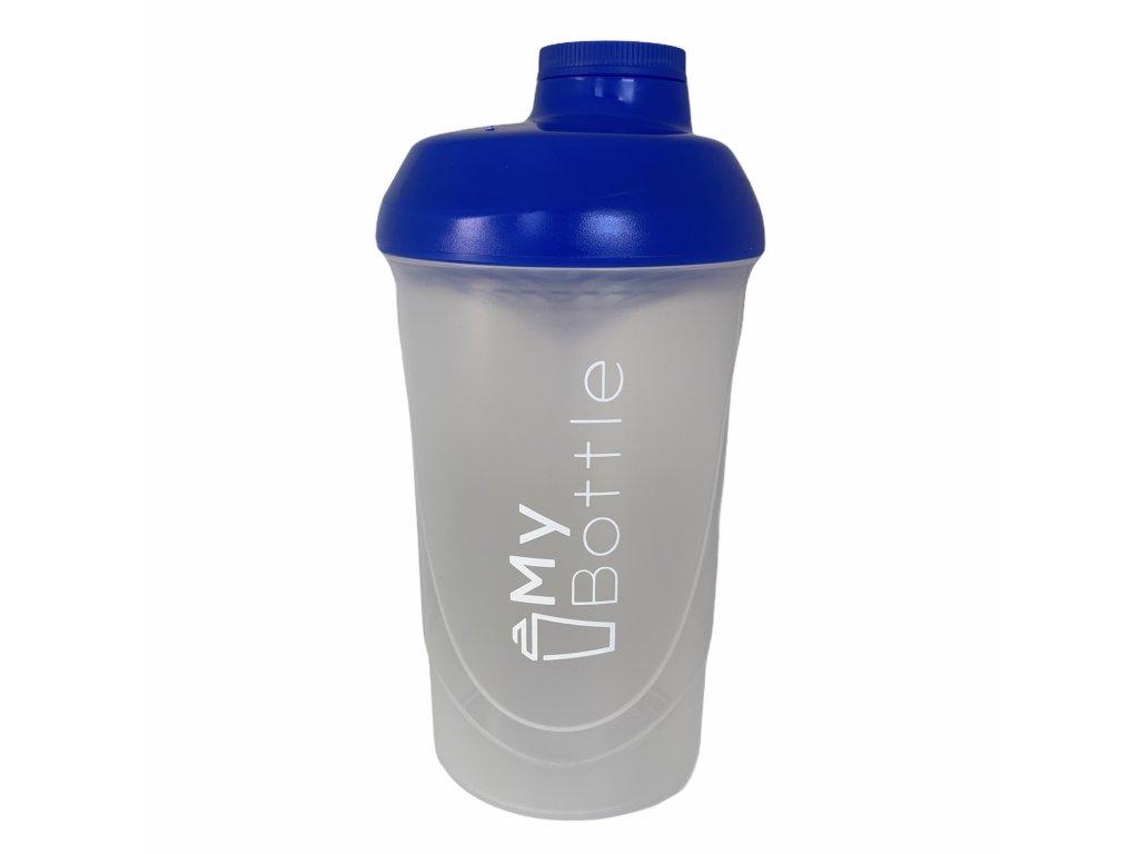 MyBottle Transparent - Blue 600 ml