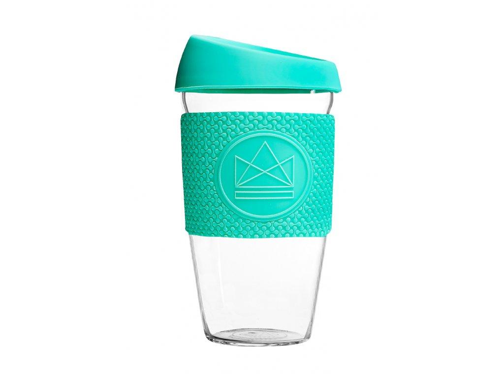 Skleněný hrnek Neon Kactus Glass Cup Free Spirit 450 ml