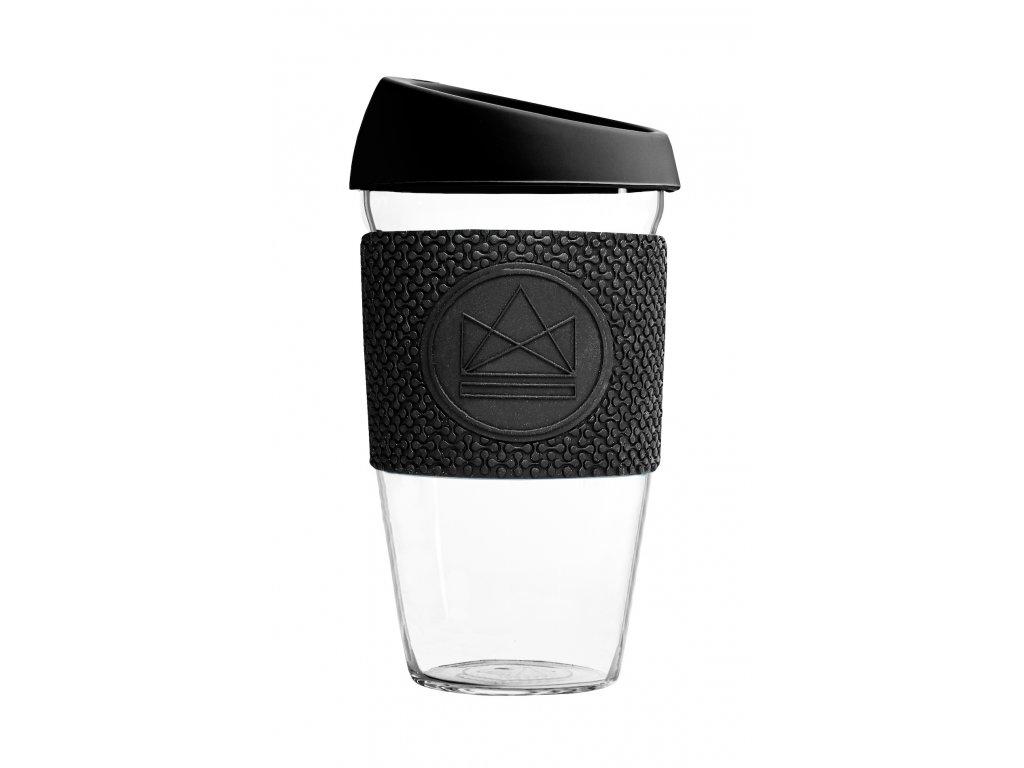 Skleněný hrnek Neon Kactus Glass Cup Rock Star 450 ml
