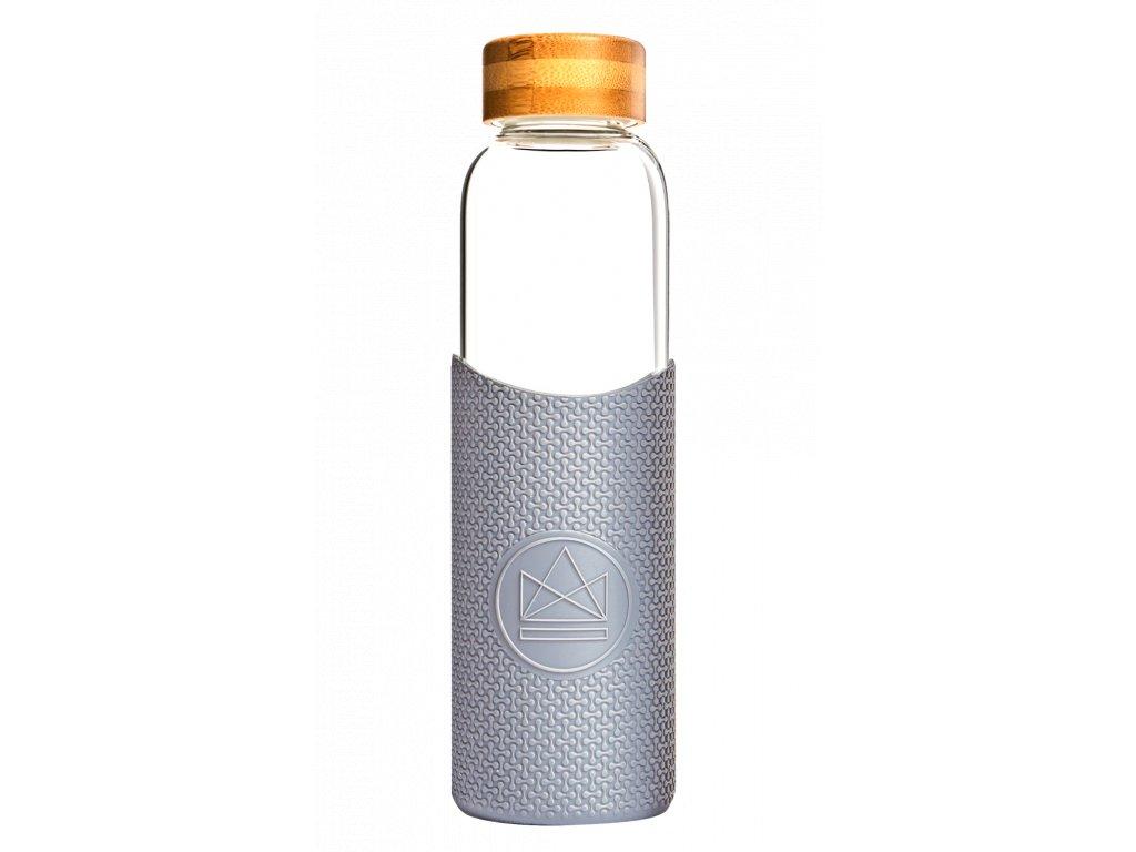 Skleněná láhev na vodu Neon Kactus Glass Water Bottle Forever Young 550 ml