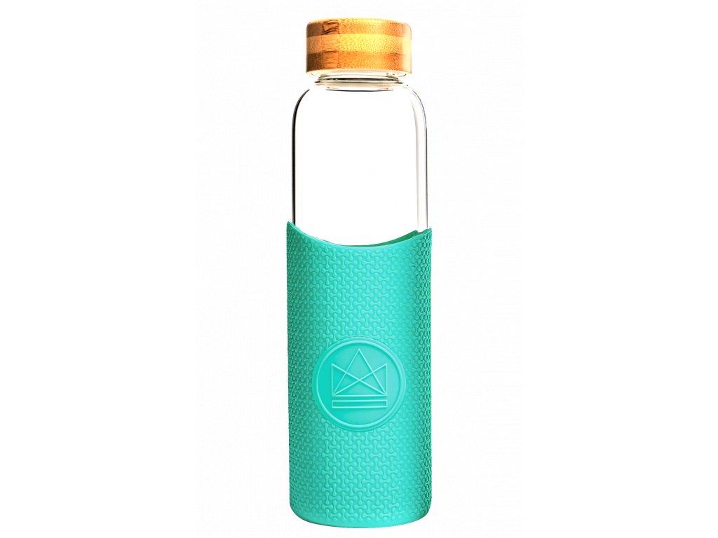 Skleněná láhev na vodu Neon Kactus Glass Water Bottle Free Spirit 550 ml